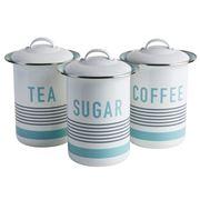 Jamie Oliver - Vintage Tea, Coffee & Sugar Tin Set 3pce