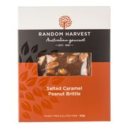 Random Harvest - Peanut Salted Caramel Brittle 125g