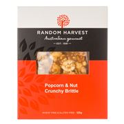 Random Harvest - Peanut and Popcorn Brittle 125g