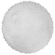 Ogilvies Designs - Circo Round Placemat Silver