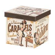 Caramels Tendres - Salted Caramel Cube Metal 150g