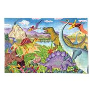 eeBoo - Age of the Dinosaur Puzzle 100pce