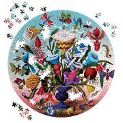 eeBoo - 500 Piece Round Bug Puzzle