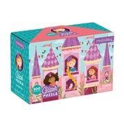 Mudpuppy - Princess Glitter Puzzle 100pce