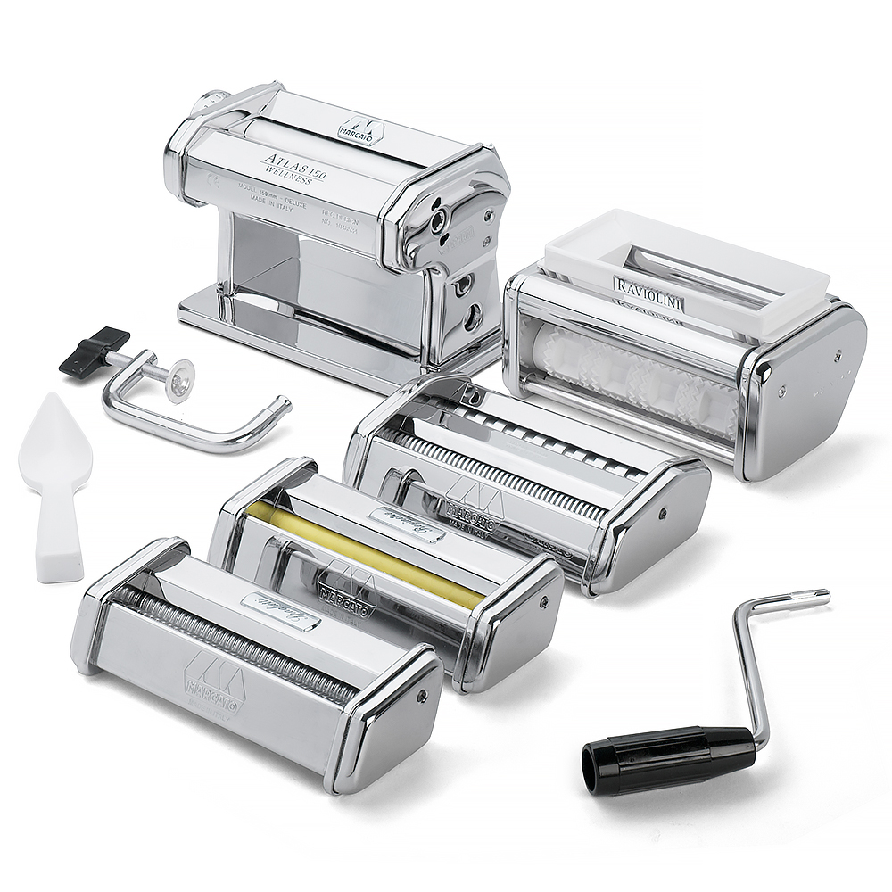 Marcato - Atlas 150 Pasta Making Set 5pce | Peter's of Kensington