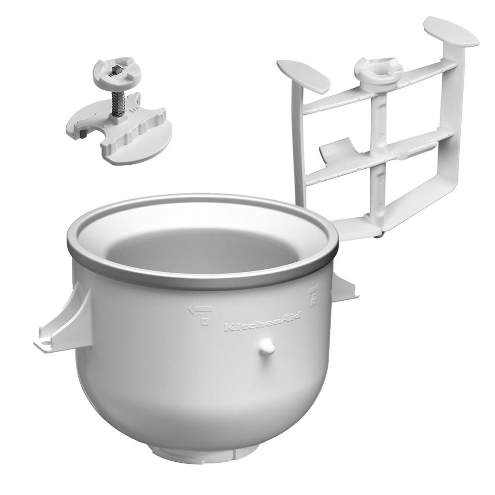 kitchenaid accessories ice cream bowl attachment peter. Black Bedroom Furniture Sets. Home Design Ideas