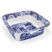 Spode - Blue Italian Square Baking Dish