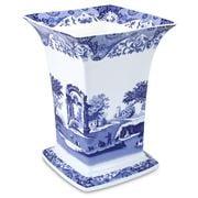 Spode - Blue Italian Square Vase