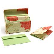 Galison - Notecards Flowering Cherry Set 12pce