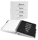 Galison - 'Dance, Love, Sing, Live' Quotable Address Book