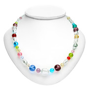 Antica Murrina - Carillon Silver Murano Necklace