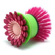 Vigar - Flower Power Pink Hand Dish Brush