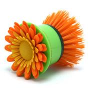 Vigar - Flower Power Hand Dish Brush Orange