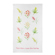 Susie Crooke - Australian Wild Flowers Tea Towel