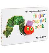 Book - Very Hungry Caterpillar Finger Puppet Book