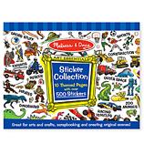 Melissa & Doug - Sticker Collection Blue