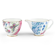 Wedgwood - Butterfly Bloom Sugar Bowl & Cream Jug