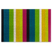 Chilewich - Bold Stripe Multicolour Indoor/Outdoor Mat Med