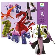 Djeco - Dragon Chimeras Paper Toys Set