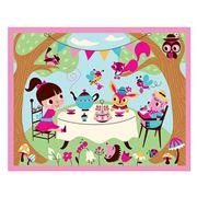 Mudpuppy - Tea Party Jigsaw Puzzle 12pce