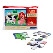 Mudpuppy - 12 Piece Jigsaw Puzzle On The Farm