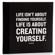 Galison - 'Life Is About Creating Yourself' Quotable Journal