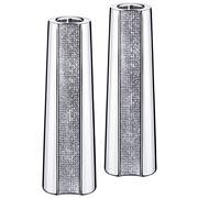 Swarovski - Ambiray Candle Holder Pair Large