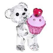 Swarovski - Kris Bear with Pink Cupcake