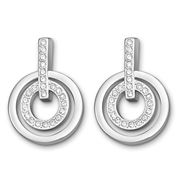 Swarovski - Circle Earrings