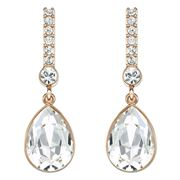 Swarovski - Attention Rose Gold Earrings