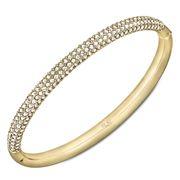 Swarovski - Stone Mini Gold Bangle