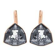 Swarovski - Brief Rose Gold Earrings