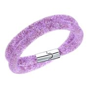 Swarovski - Stardust Mauve Double Bracelet
