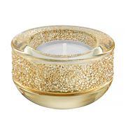 Swarovski - Shimmer Golden Shadow Tealight Candle Holder
