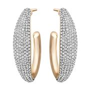 Swarovski - Circlet Large Hoop Earrings