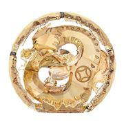 Swarovski - Chinese Zodiac Dragon Large Golden Figurine