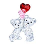 Swarovski - Heart Balloons Kris Bear