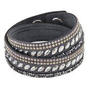 Swarovski - Slake Pulse Grey Bracelet