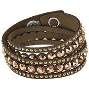Swarovski - Slake Dot Bronze Bracelet