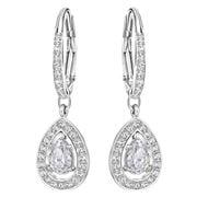 Swarovski - Attract Light Pear Earrings