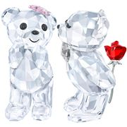 Swarovski - A Loverly Surprise Kris Bears 2 pce