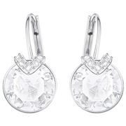 Swarovski - Bella V Pierced Clear Earrings