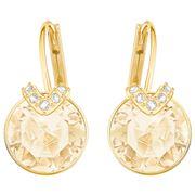 Swarovski - Bella V Pierced Gold Earrings