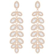 Swarovski - Baron Rose Gold Pierced Earrings