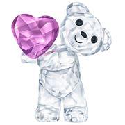 Swarovski - Kris Bear Take My Heart Crystal Figurine