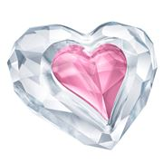 Swarovski - Twin Hearts Only For You Crystal Figurine