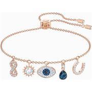 Swarovski - Symbolic Charm Rose Gold Plated Bracelet