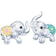 Swarovski - Lucky Elephants 2pce