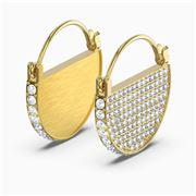 Swarovski - Ginger Hoop Gold Tone Plated Earrings