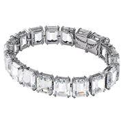 Swarovski - Millenia Bracelet Octagon Crystal White/Rhodium